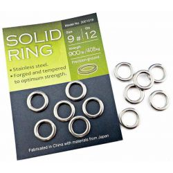 Anellini Pesca Artificiali Solid Ring BKK Stainless Steel