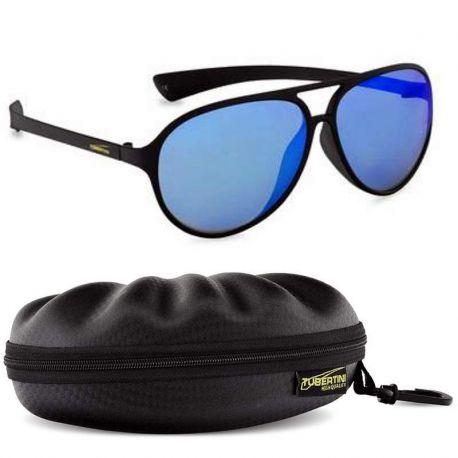 Occhiali Pesca Tubertini T-Glass Cobra Polarized Mirror Blu