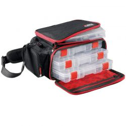 Borsa Pesca Abu + 3 Scatole Porta Accessori Mobile Lure Bag