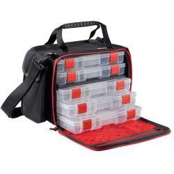Borsa Pesca Abu + 5 Scatole Porta Accessori Medium Lure Bag