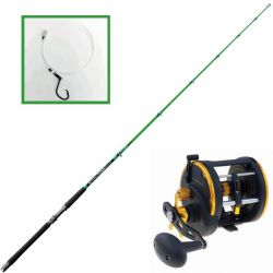 Kit Pronto Canna Special Tonno Mulinello Penn Squall 50 lbs