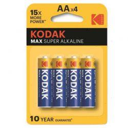 4 Batterie Kodak AA Stilo
