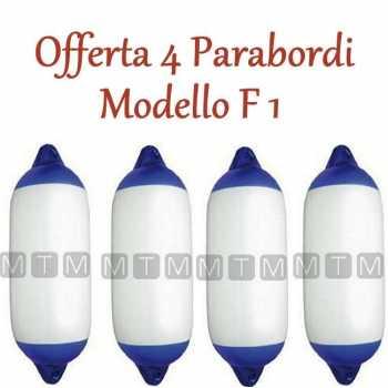Offerta 4 Parabordi  Barca F1