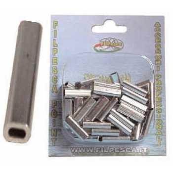 Medie Rivette per Filo ø 1.30mm Confezione 100 pezzi