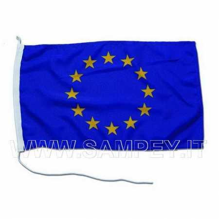 Bandiera unione europea per barca