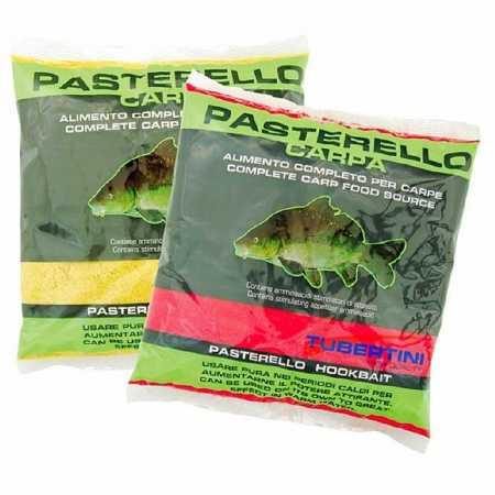 Pastura Tubertini Pastarello Fragola Carpfishing Rosso 1 Kg