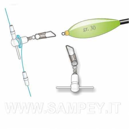Stonfo 307 Attacco Fisso Per Galleggianti Inglesi Pesca