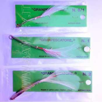 Cucchiaino Artificiale Granpescatore Gran Pescatore N 0/1 Originale