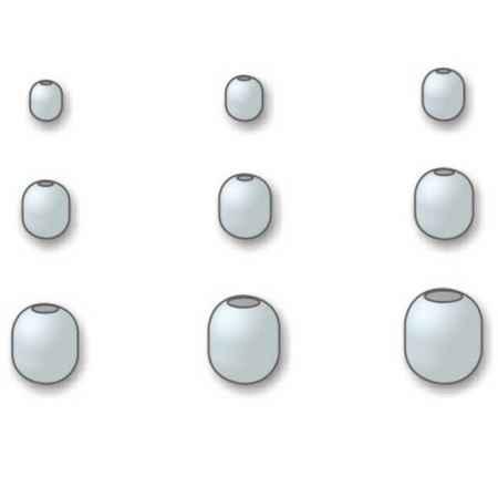 Perline Stonfo Foro Calibrato X Filo 0.40 0.50 Mm Art 519