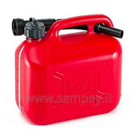 Tanica Benzina Carburante 5 litri Canestro Nautica Barca