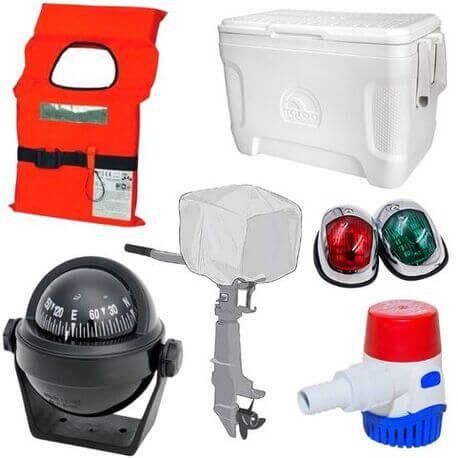 Nautica Ghiacciaie Dotazioni Accessori Teli Proiettori Pompe Elettricità