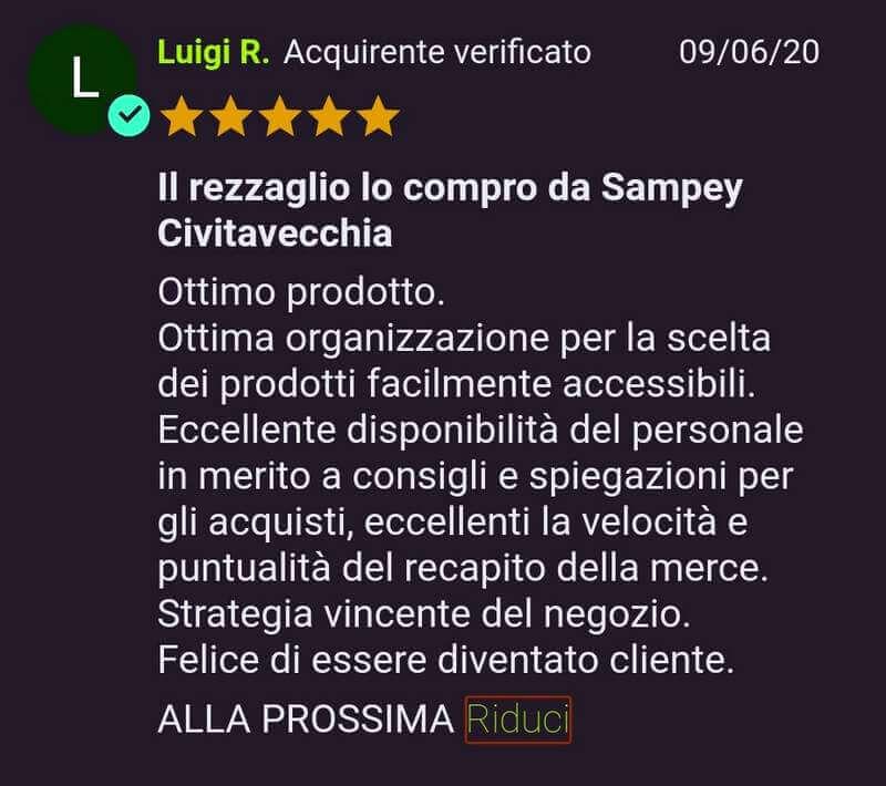 Rezzagli Sampey Recensioni