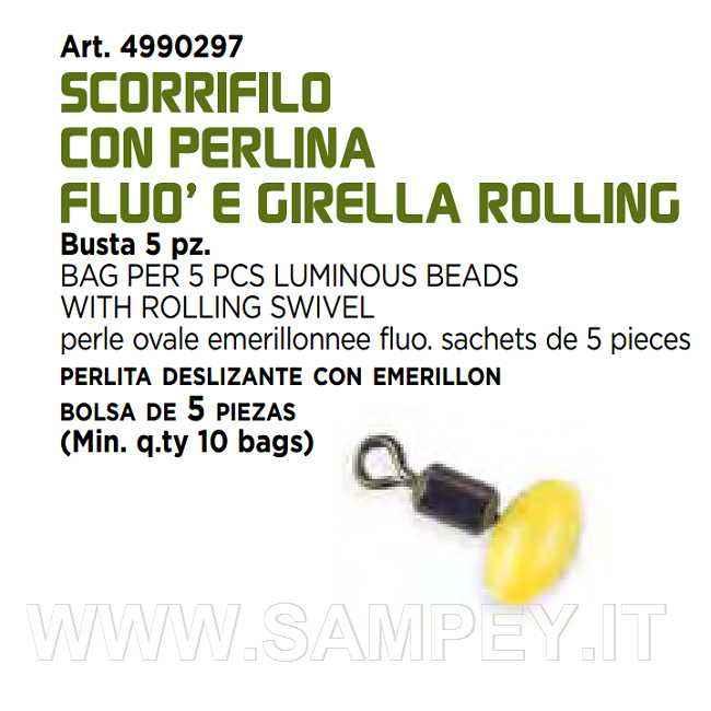 girella con perlina surf casting bolentino