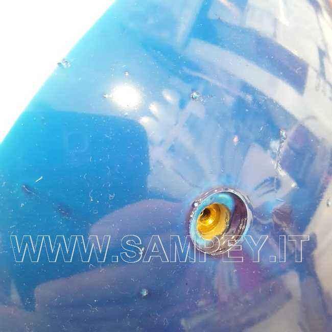4 Parabordi Per Barche F3 Majoni + 4 Copriparabordi Blu
