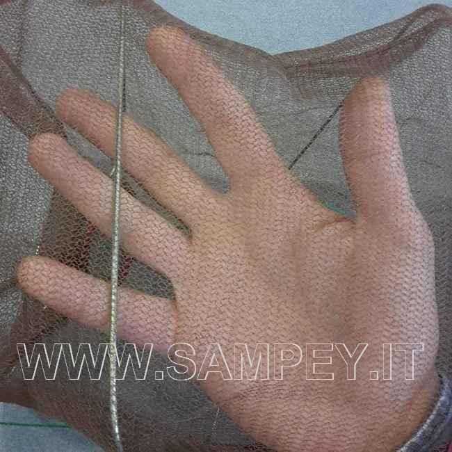 Nassa da Pesca Inganno Rettangolare 50 cm maglia 2mm