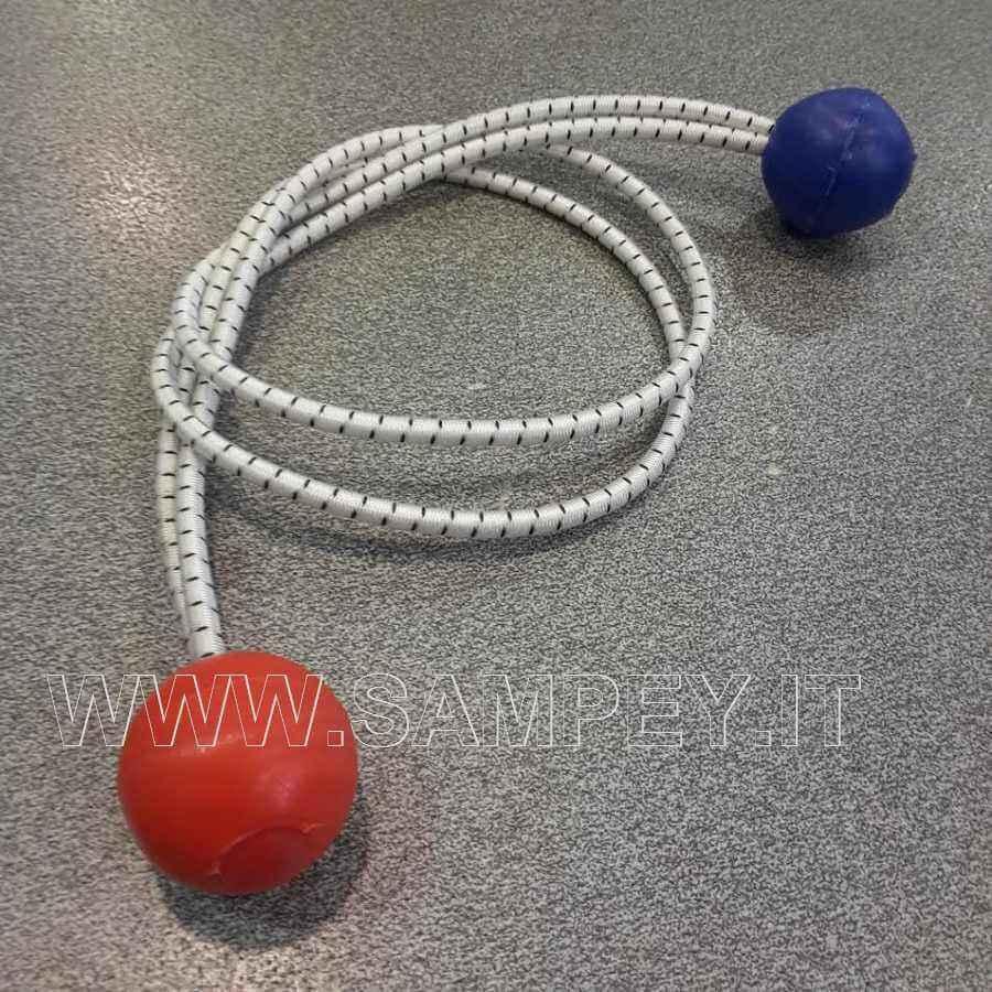 elastico con palline