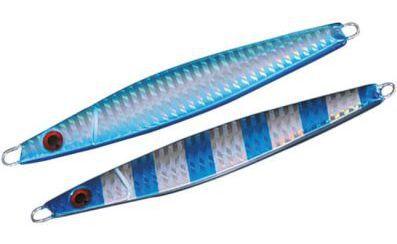 Artificiali Metallo Nomura Sato 6,9 cm 21 gr light & shore jigging Blu