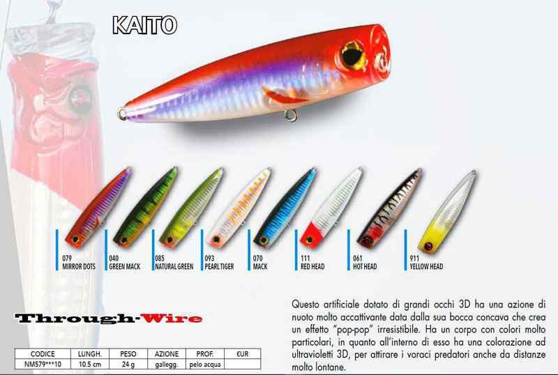 Artificiali Nomura 10.5 cm 24 gr Kaito popper