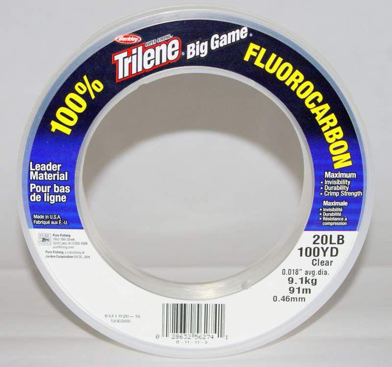 Fluorcarbon 100% Filo Pesca Trilene Big Game