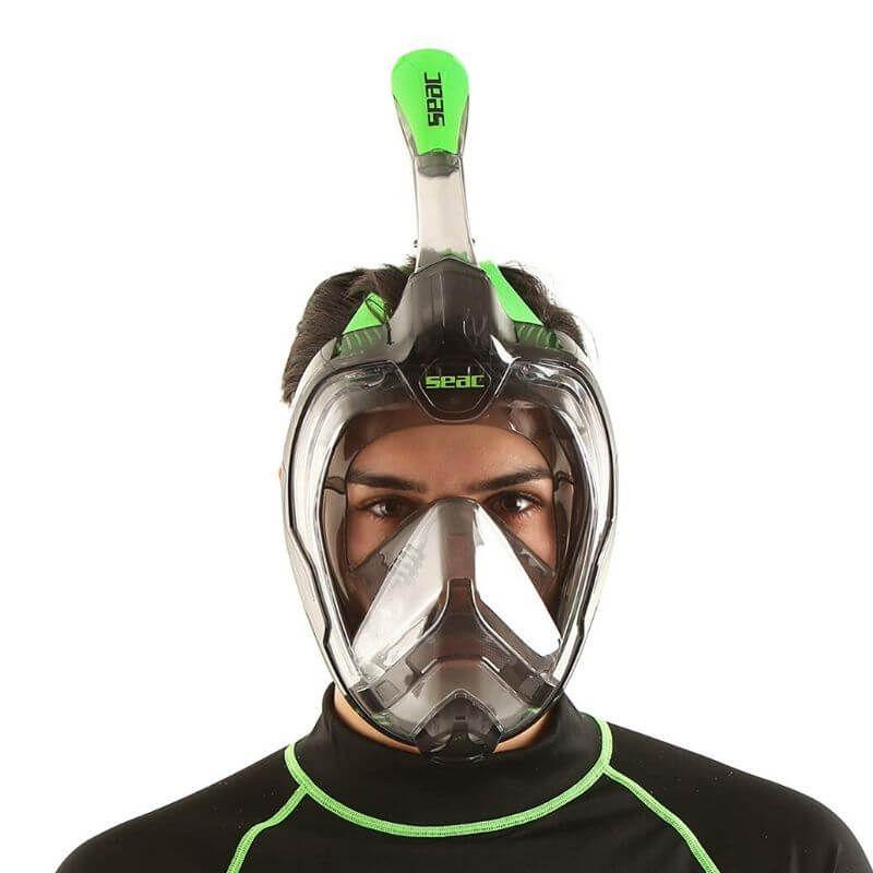 granfacciale maschera snorkeling