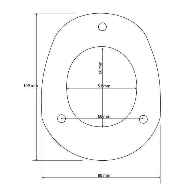 Tappo guarnizione portacanne incasso ø 40 mm