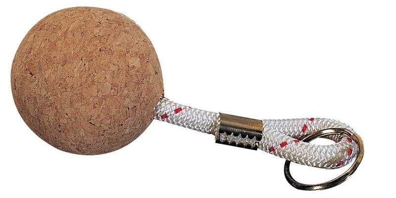 porta chiavi palla sughero barca