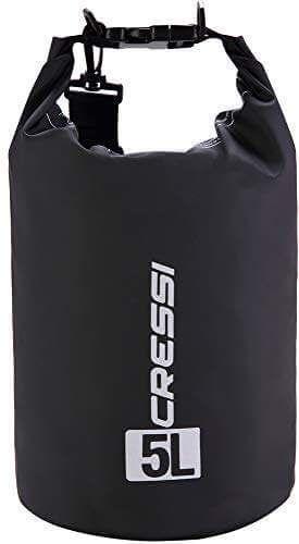 Cressi Dry Bag, Sacca Zaino Impermeabile 5, 10, 15 Litri