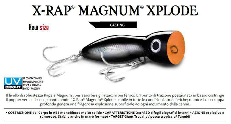 Rapala MaxRap Walk'N Roll Top Water 13 cm Colore FT