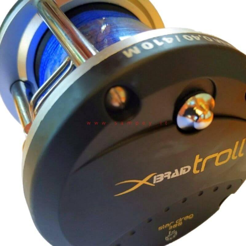 Mulinello Traina Lineaeffe Braid 300 con Trecciato imbobinato