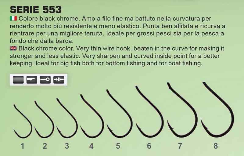 Ami Pesca Tubertini Serie 553 Con Occhiello