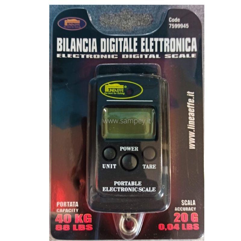 Bilancia Pesca Pesa Pesci Digitale Elettronica Lineaeffe 40 kg