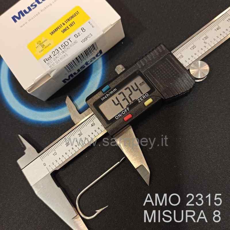 AMO MUSTAD 2315 MISURA 8