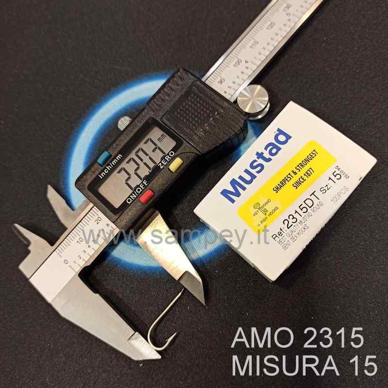 AMO MUSTAD 2315 MISURA 15