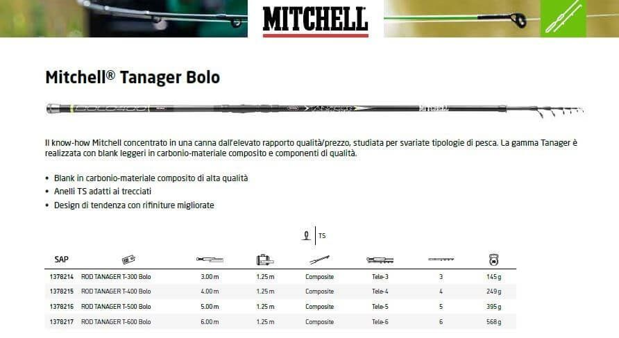 Canna Bolognese 5 Metri Mitchell Tanager