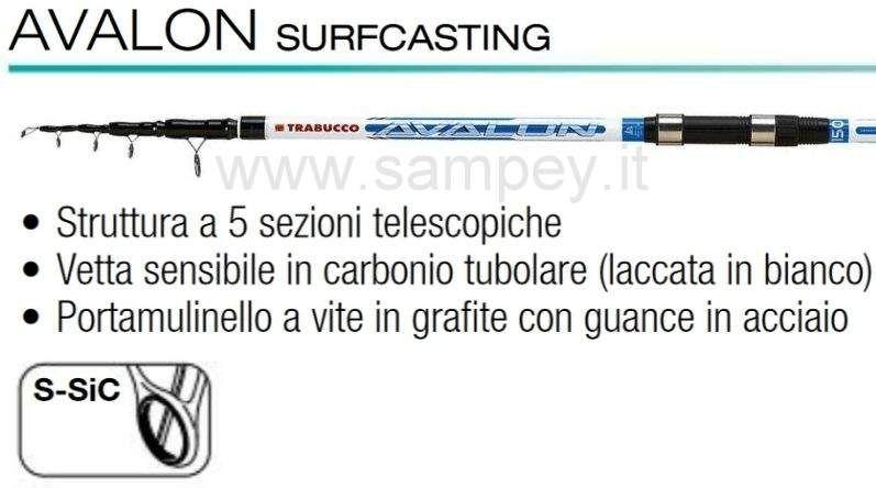 Completo Kit Combo Starter Kit Surfcasting Trabucco 2 Canne 2 Mulinelli Fodero Tripode
