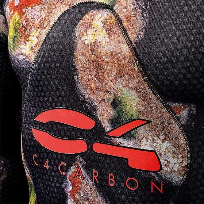 Giacca Muta Pesca Sub 5,0 mm C4 Carbon Rock Apnea Mimetica