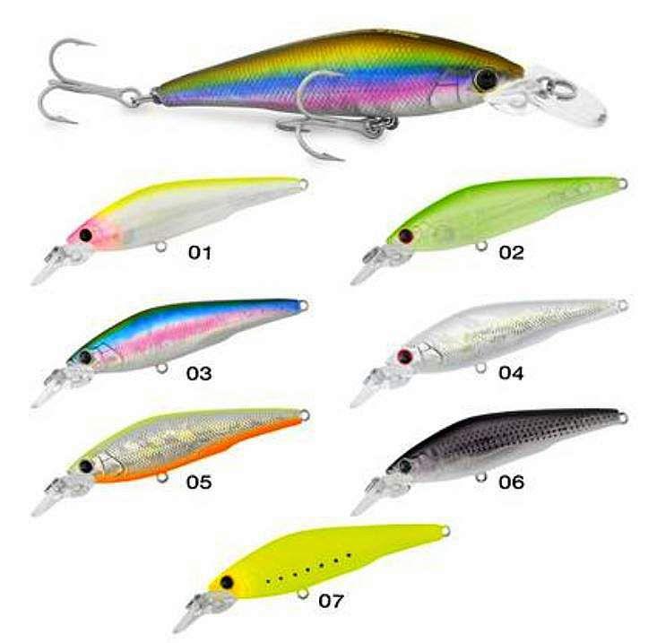 Artificiali Sea Bass Killer Fat Seika Tubertini 7cm 8g col.2