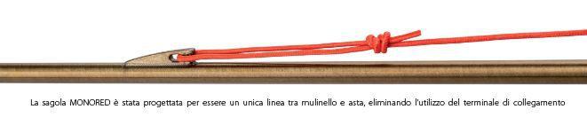Salvimar Sagola Sub Line Rossa  Monored  ø 1,0 mm (al metro)