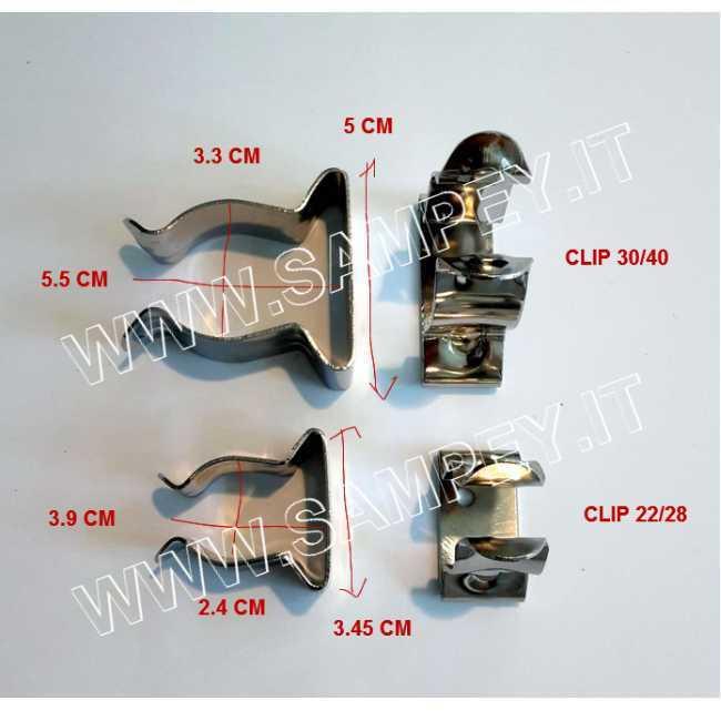 Clips Nautici acciaio Inox